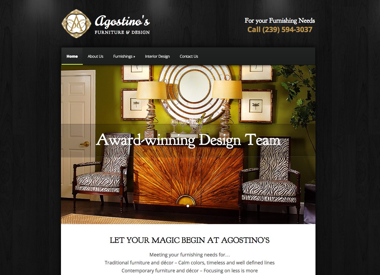 Agostino's Furniture and Design